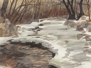 Frozen Boulder Creek